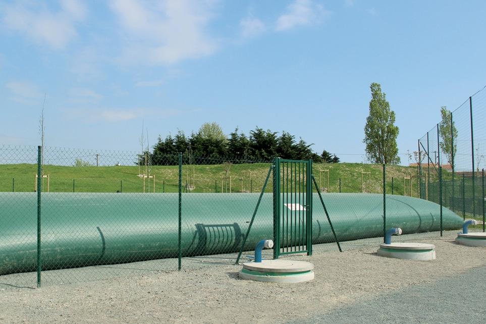 Citernes souples 7ETB, pour réserve incendie, stockage d'effluents,...